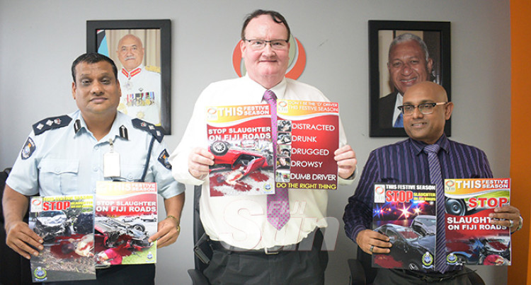 Graphic Road Safety Message to Shock