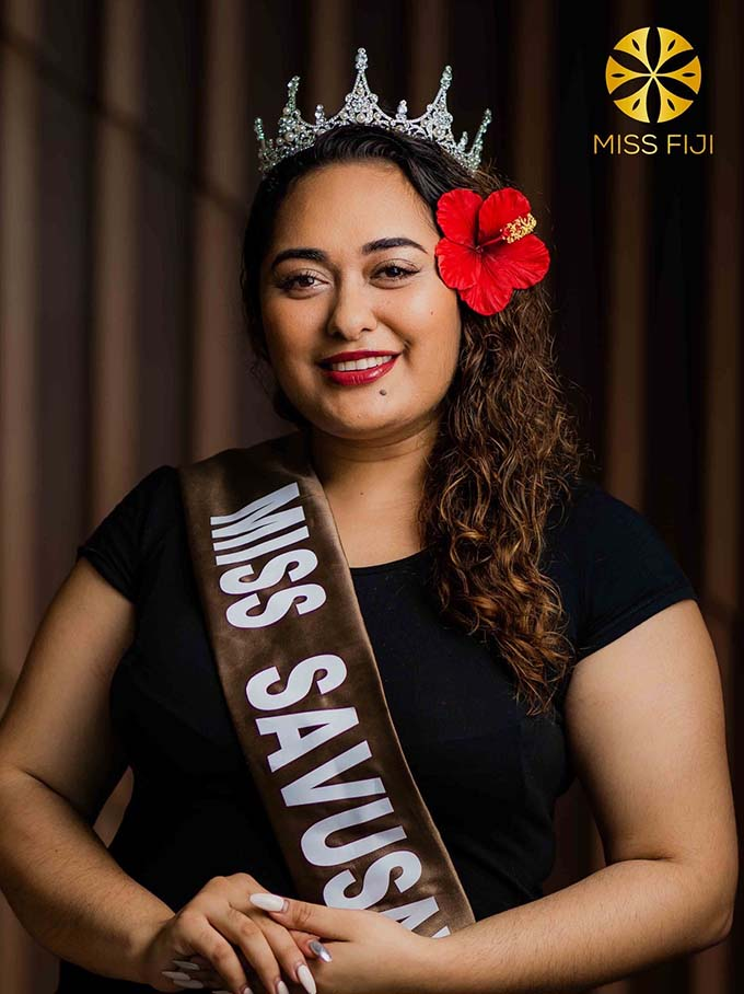 Miss Savusavu 2018 Alisi Rabune.