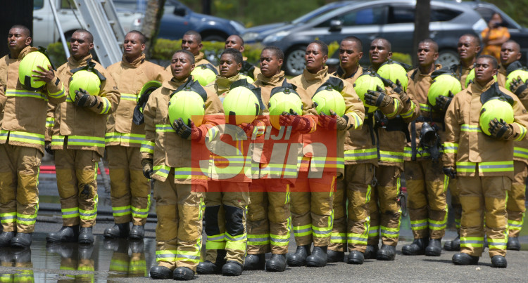 National Fire Authority Pass Out Parade