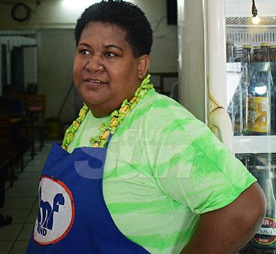 Xia Men Yingli restaurant staff member, Nanise Radinikanace recounts the robbery that occured at the restaurant at Victoria Parade, Suva on December 7, 2019. Photo: Ronald Kumar