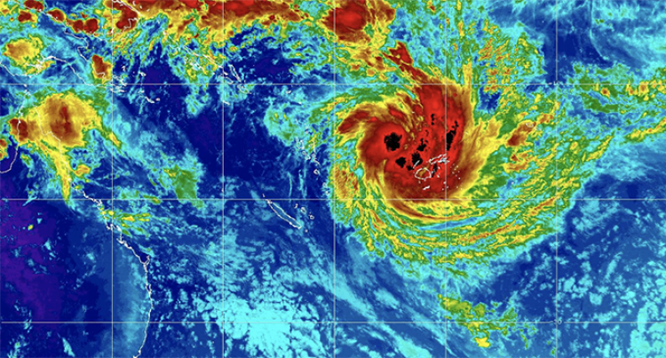 TC Sarai May Generate Into A Strong Category 2 Passing West of Nadi This Evening