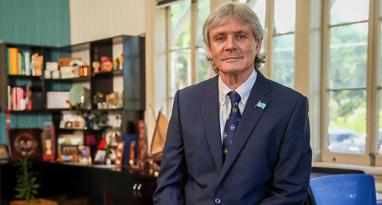 Fiji National University Vice-Chancellor, Nigel Healey Resigns