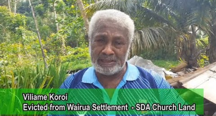Evicted: Church, Acting On Court Order, Dismantles Houses At Tamavua-i-Wai