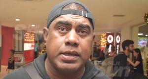 Fiji Airways Fijiana coach Saiasi Fuliat the Nadi International Airport on December 18, 2019. Photo: Waisea Nasokia