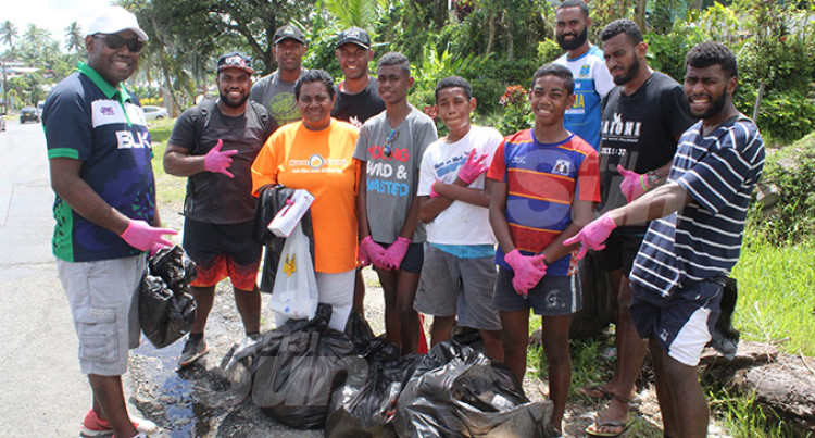 Saioni Rugby Club Youths Assist Community