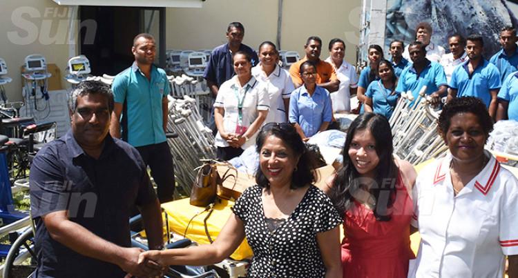 Nadi Hospital Receives $25K Worth Of Equipment