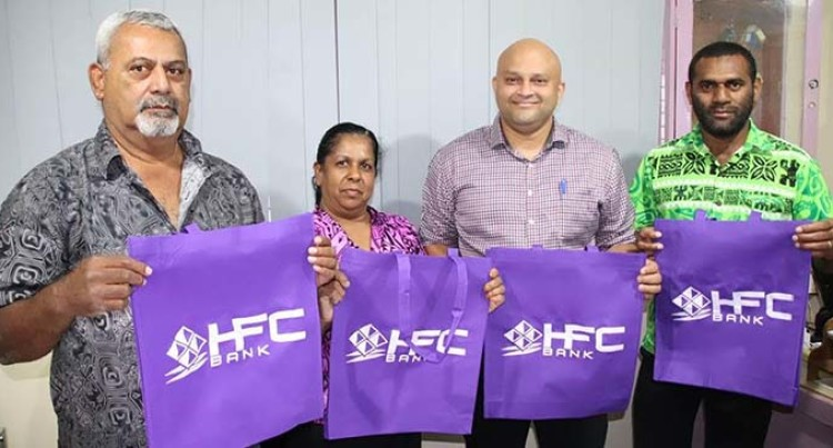 HFC Bank Presents Eco Bags To Suva City Council
