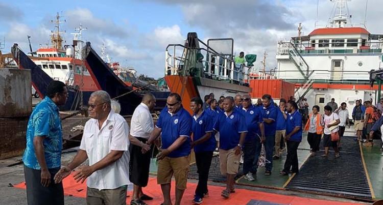 Health Officials Return From Kadavu Stint