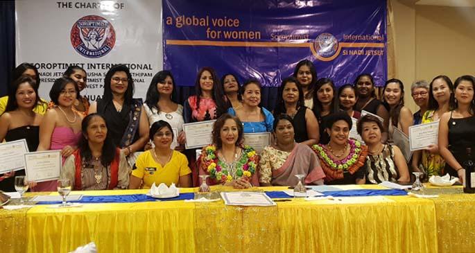 2 Soroptimist International opens 8th Club in Fiji