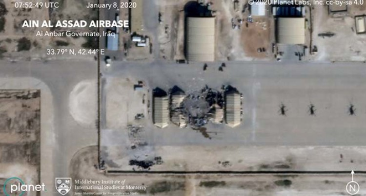 No Casualties In The Iranian Missile Attack