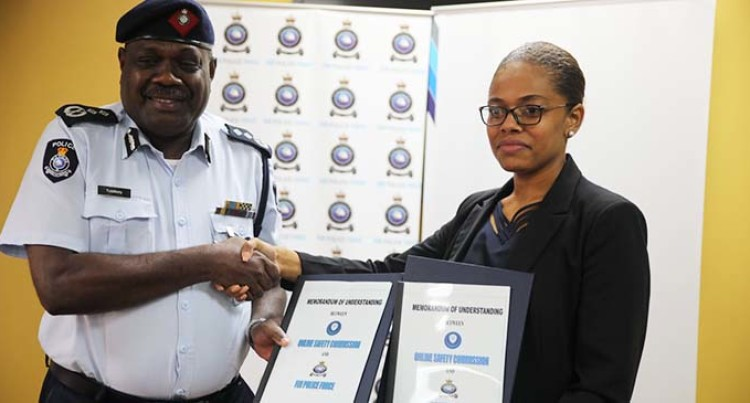 Police Sign MOU With Online Safety Commission