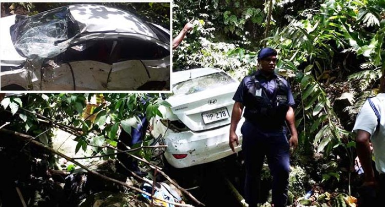 Missing Hyundai Accent Found In A Cliff Along Edinburgh Drive