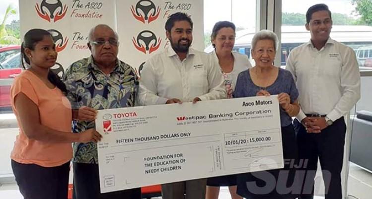 Asco Motors Backs Education