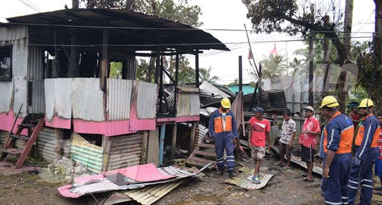 Early Morning Blaze Destroys Two Homes In Caubati