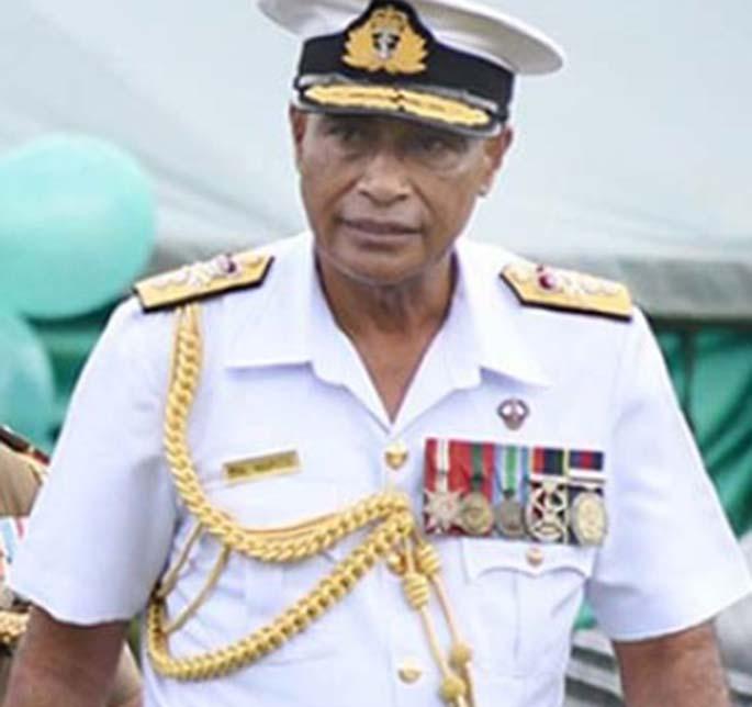 Commander Naupoto.