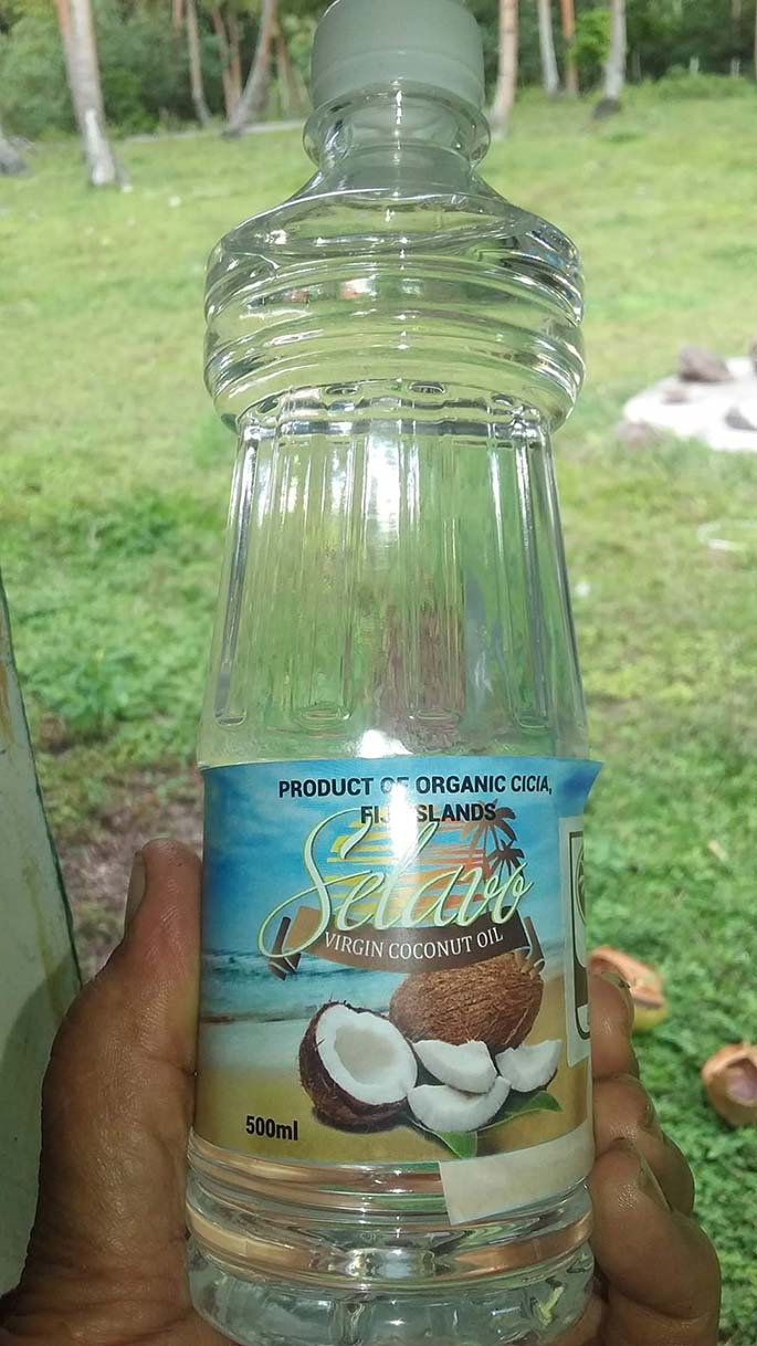 1. The organic Selavo virgin coconut oil.