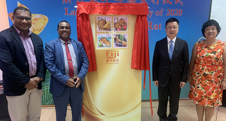 Newly Launched Stamps Signify Fiji-China Co-operation