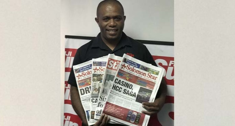 Fiji Sun Prints Solomon Star