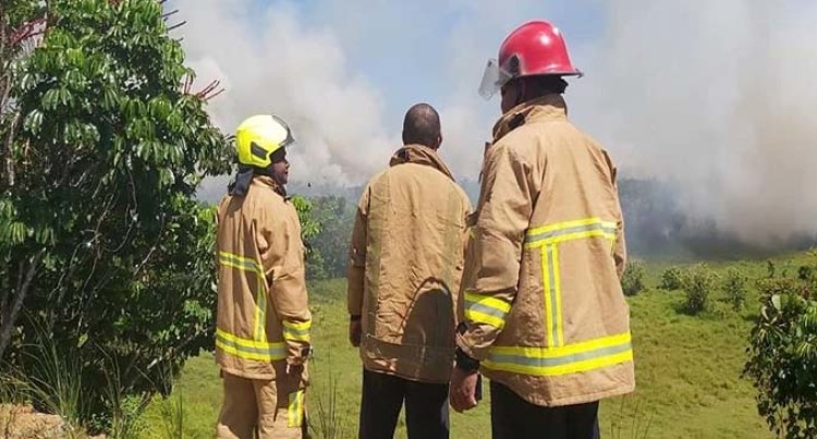 Billows Of Smoke In Naulu, Nakasi Was From Burning Rubbish