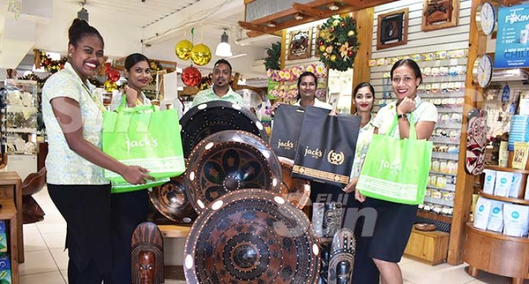 Jack's Of Fiji Opting For Paper And Woven Bags