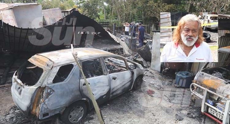Nadawa House Fire: Family Moves In With Relatives