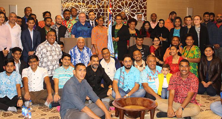 Prime Minister Bainimarama Meets United Arab Emirates Fijians In Abu Dhabi