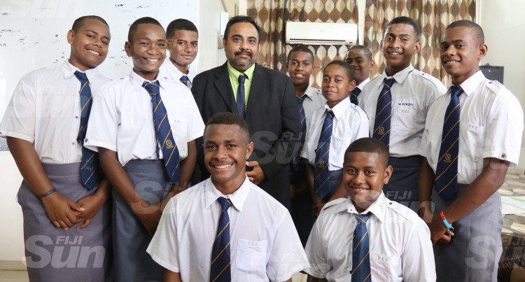 Ratu Kadavulevu School (RKS) Students Welcome Newly Appointed Principal, Arvind Prasad