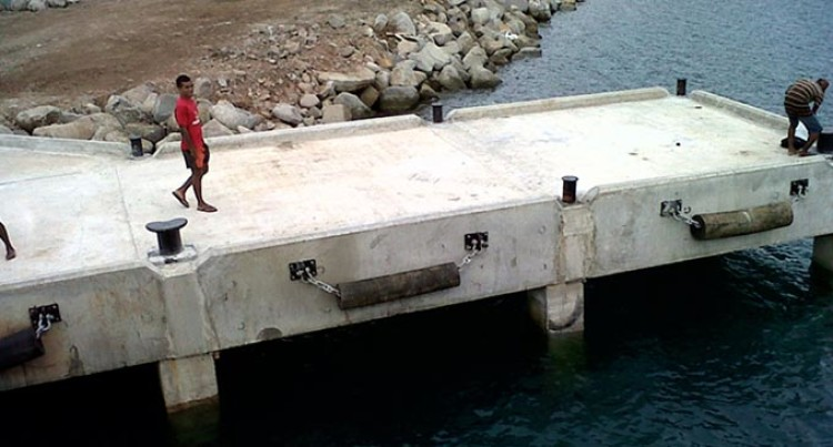 Fiji Roads Authority Team Assesses Rabi Jetty
