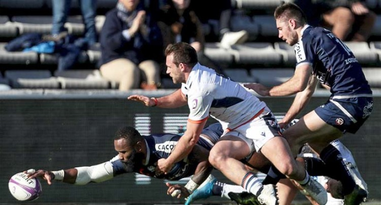 Fijians Star For Bordeaux