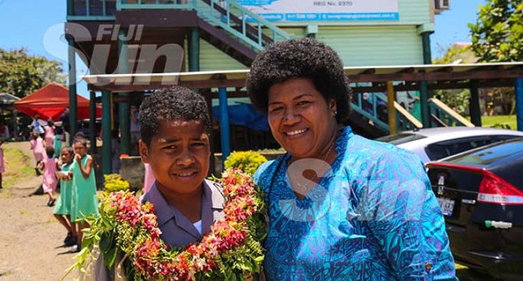 Suva Primary's Head Boy Badged After 4 Days Of Dad's Passing