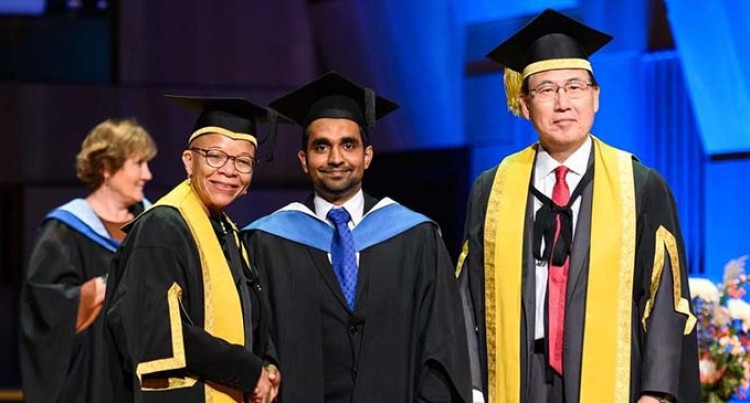 Taslim Graduates With Masters From World Maritime University