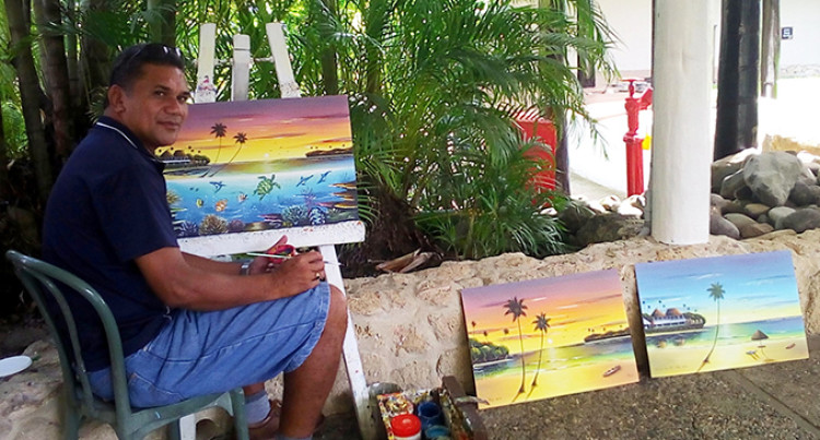 Timoci's Painting Business Pays The Bills
