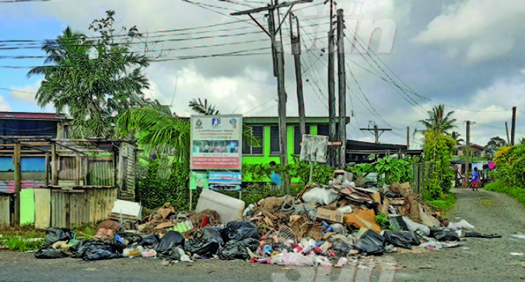 Nasinu Garbage Still Piling Up