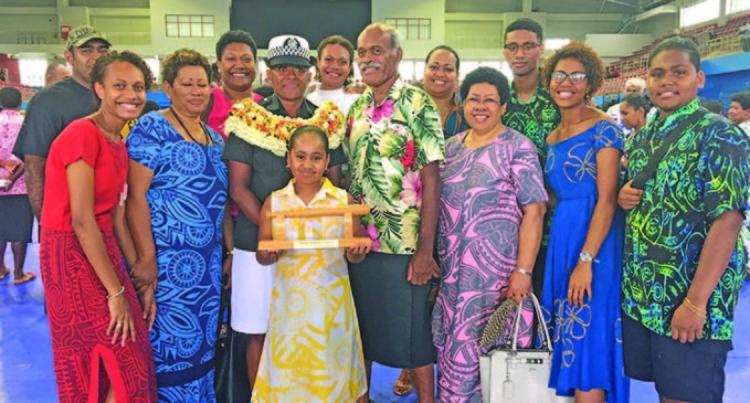 Fiji Police Recruits: Baton Of Honour Recipient Dedicates Award To Parents, All Women