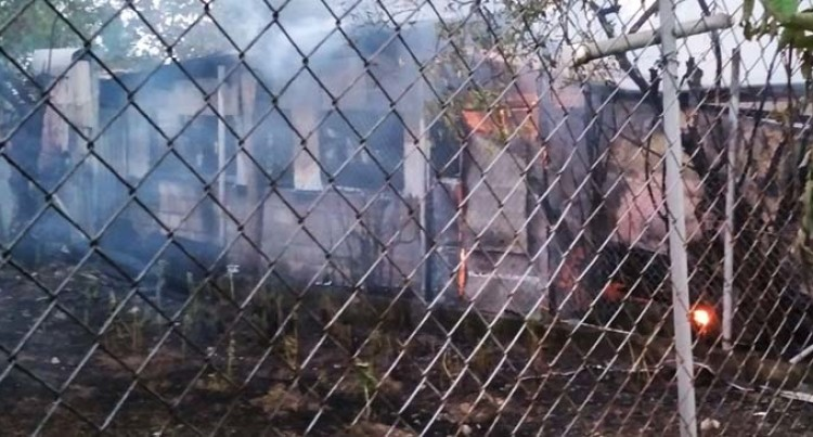 Fire In Nadawa Destroys House, Flat And Two Cars