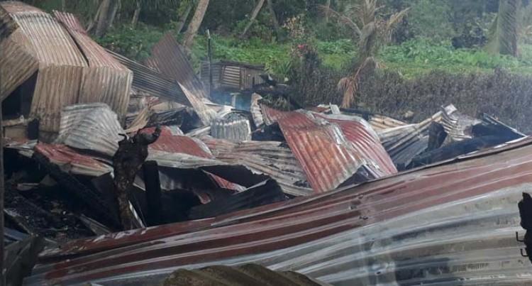 Fire Engulfs Two Homes In Vusuya, Nausori