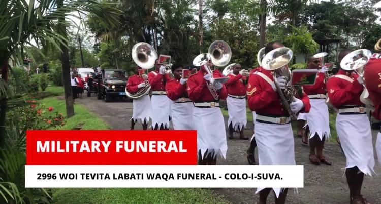 Funeral of 2996 WOI Tevita Labati Waqa