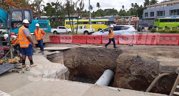 Authority Adamant To Fix Road By Monday