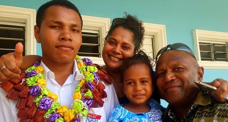 Mum: Love Pays Dividends, Son Badged As Head Boy