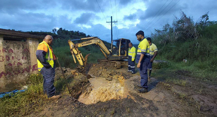 Expect Low Water Pressure To Intermittent Supply Until 6am Tomorrow In Certain Areas Of Suva And Nasinu