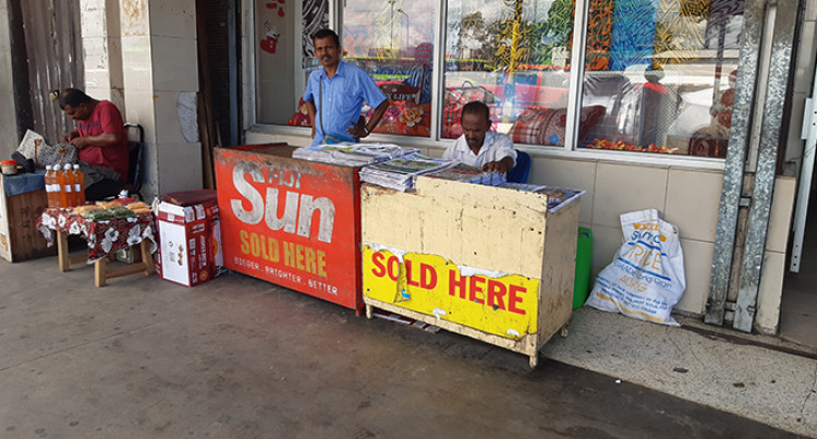 Newspaper Seller, 65, Deals With Hasslers On Daily Basis