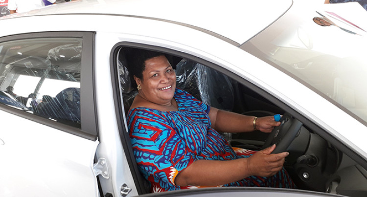 Lavenia Wins $59K Car, Says It's A Timely Gift