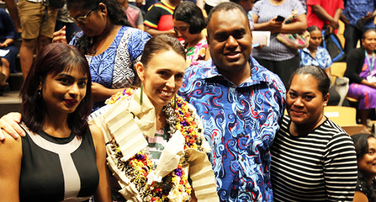 Jacinda In Fiji: Students Quarantined In Auckland Get Chance To Thank New Zealand Prime Minister