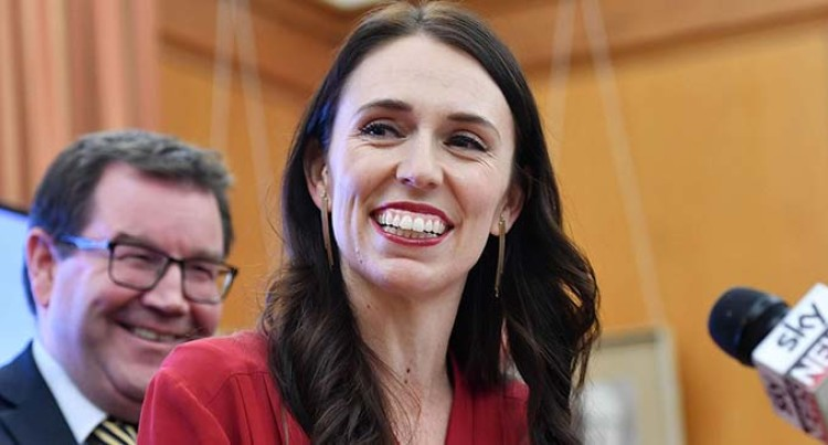New Zealand's Prime Minister, Jacinda Ardern, Riding A Wave Of Popularity, Flies Into Nadi And Later Nausori Tonight