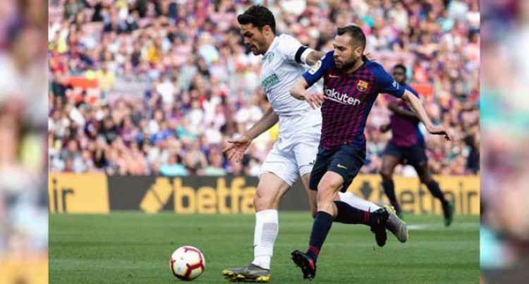 Alba Injury Big Setback For Barca