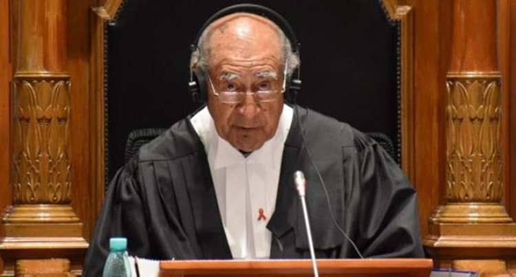 Ratu Epeli Unlikely To Change His Ruling Despite Opposition Walkout