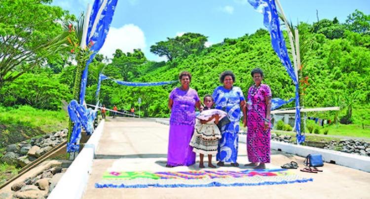 Prime Minister Voreqe Bainimarama Commissions Four Irish Crossings Worth $4.4million