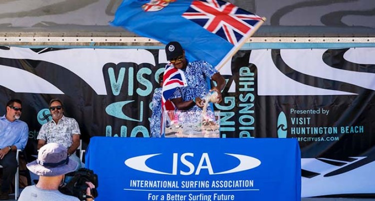 It's Unreal, Says Surfing Nominee