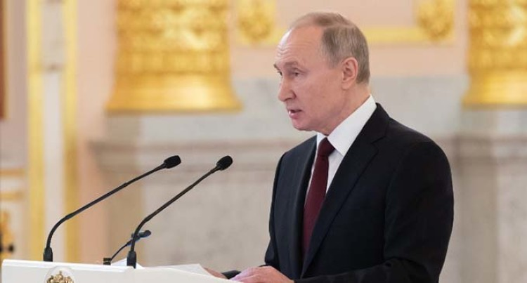 Putin Discloses Details Of Russian Cabinet Reshuffle