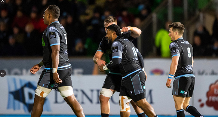 Mesulame Dolokoto Scores Twice In Debut For Glasgow Warriors